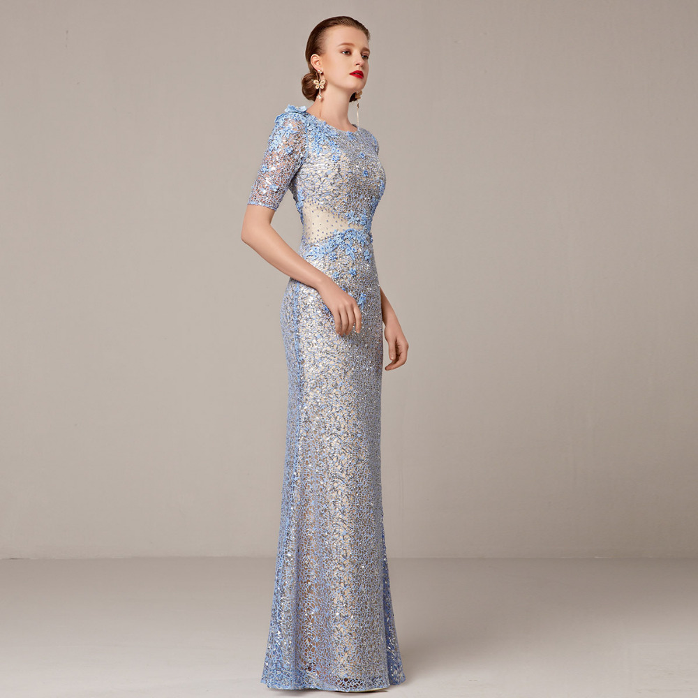 01afc1904a8b Coniefox 31208 2 Elegant Long Evening Dresses Formal Gowns Wedding Party  Celebrity Oscar Red Carpet robe de soiree party Dress-in Evening Dresses  from ...