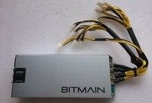 Bitcoin et litecoin minière puissance Antminer 1600 W s9/S7/S5/S4/S4 + 12 V alimentation AntMiner PSU Série avec 10 PCS 6pin