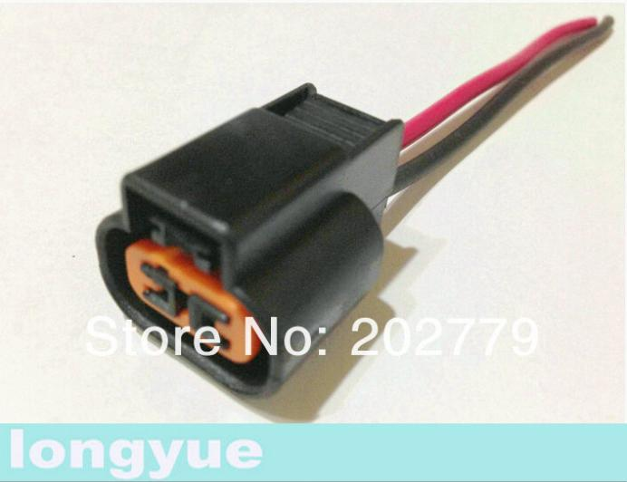 ₩longyue 10pcs universal 2 pin O2 connector with cable Automotive on wiring harness components, wiring harness wire, wiring harness covers, wiring harness clips, wiring harness grommets,