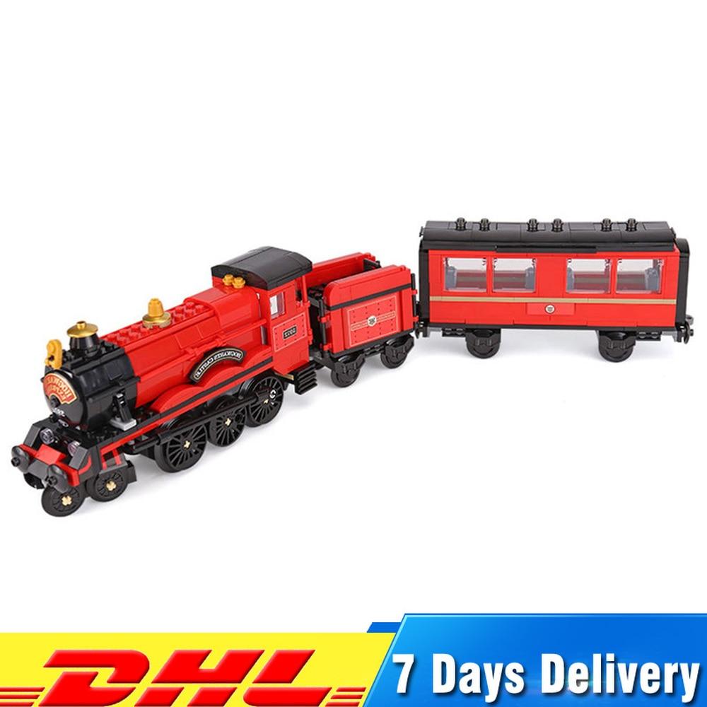 Harry Magic Potter poudlard Express Train Compatible Legoings 75955 blocs briques de construction jouets éducatifs pour les enfants