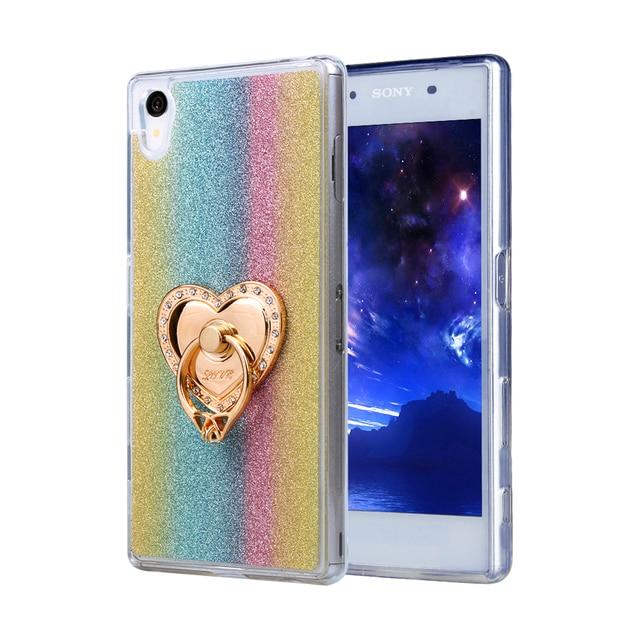 Diamants Rose Conception Tpu Cas Pour Sony Xperia Z5 Compact RZtYa4bdq