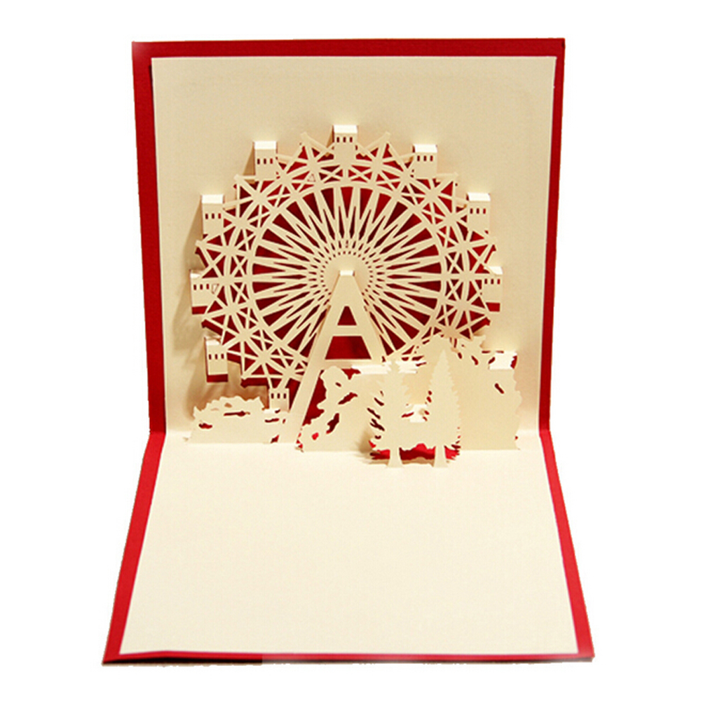 5 Pieceslotnew Arrival Romantic Birthday Greeting Card Happiness