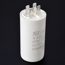 цена на 1pc CBB60 Capacitor 25UF 450V AC 50Hz/60Hz Electric Starting Gasoline Generator Power Capacitor For Washing Machines Mayitr
