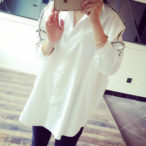 2019 New Summer Autumn Vintage Batwing Sleeve Lolita Japanese Literary Fat Blouse Shirt White Black Ah953 Invigorating Blood Circulation And Stopping Pains Women's Clothing