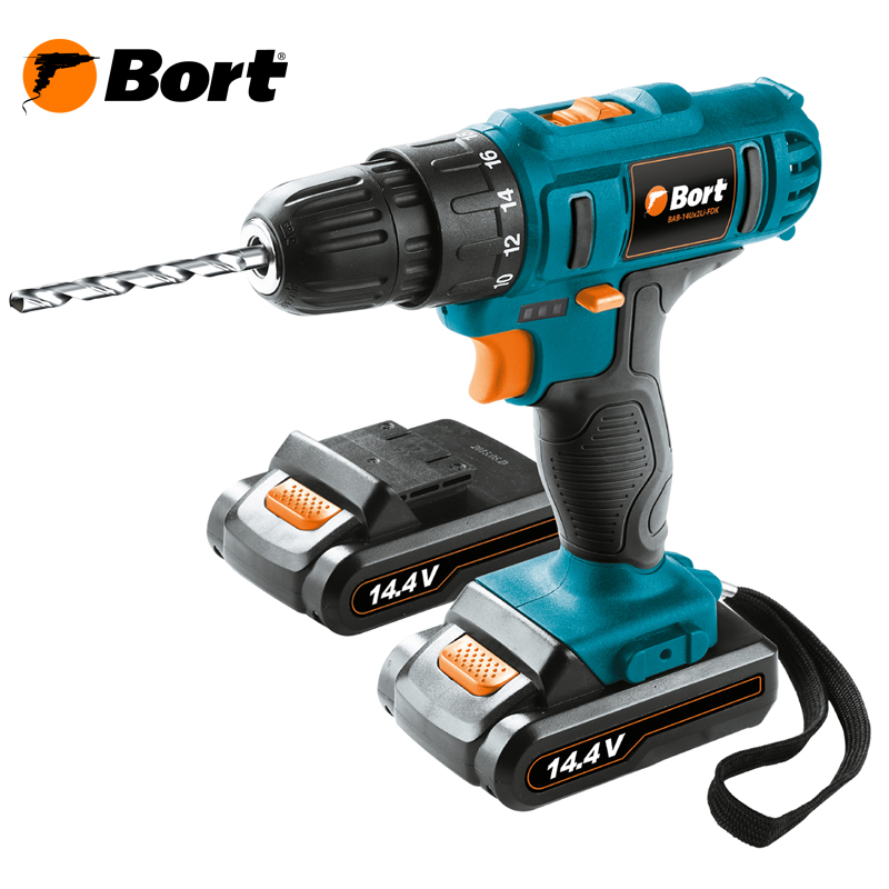 цена на Cordless Drill Bort BAB-14Ux2Li-FDK