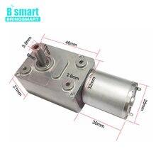 Bringsmart JGY-370 Worm Gear Motor 12 Volt Small Electric Motor 12v Dc Motor 6v Reducer 18v With Self-locking