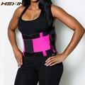 HEXIN Sudor Cinturón Fajas Reductoras Entrenador Cintura Faja Mujeres Vientre Delgado Fajas Reductora Corsé Entrenamiento de Neopreno Cinturón