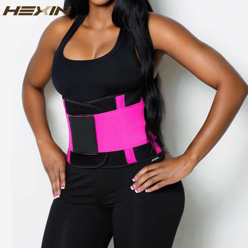 94e7753fa HEXIN Sweat Belt Fajas Reductoras Waist Trainer Body Shaper Women Slim Belly  Girdles Waist Cincher Corset