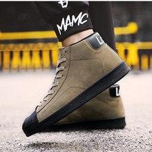 e82bf66d8 Botas de homens Fashio Marca ankle boots Confortáveis homens calçado Sapatos  Bottes pour hommes Zapatillas Casuais