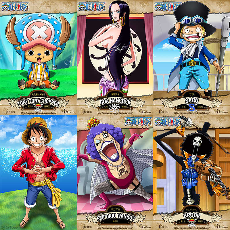Monkey D Luffy Art Print Wall Pictures Painting Art White Cardboard Poster Kids Room Wall Decor 42 30cm No Frame Part 4