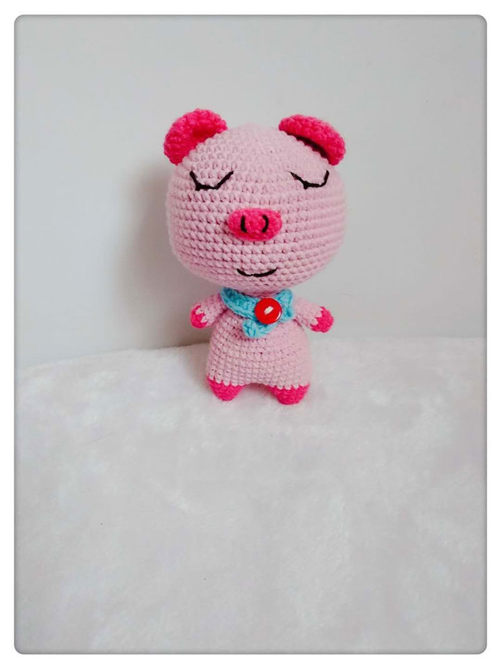 Amigurumi Hippo in Swimsuit Crochet Free Pattern - Crochet & Knitting | 960x720