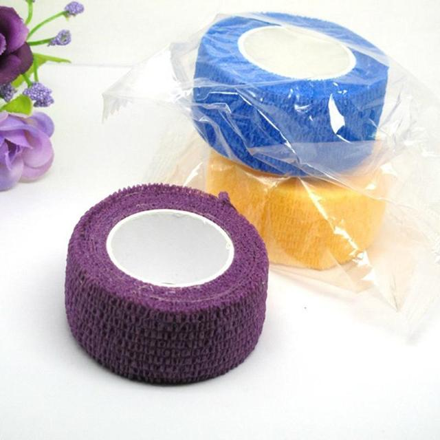Outdoor Medical Bandage first aid kit Waterproof Adhesive elastic bandage Self adhesive breathable Tape Colorful Pet Bandage