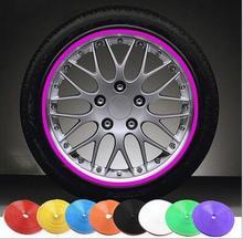 8 м стайлинга автомобилей колеса защиты обода Стикеры ступицы колеса защитная лента для Mercedes s-класса W203 Benz W202 W208 w210 аксессуары