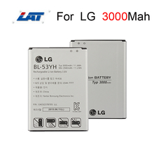 3000mAh High Capacity Phone Battery BL-53YH Use For LG G3 D855 D850 D858 D859 D857 F400 VS985 Original OEM Replacement Battery