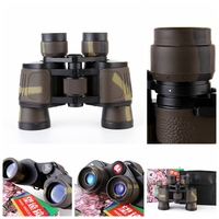 Classic Binocular Telescope 8X40 HD Blue Film Coated Optical Len 96M 1000M For Outdoor Travel Sightseeing