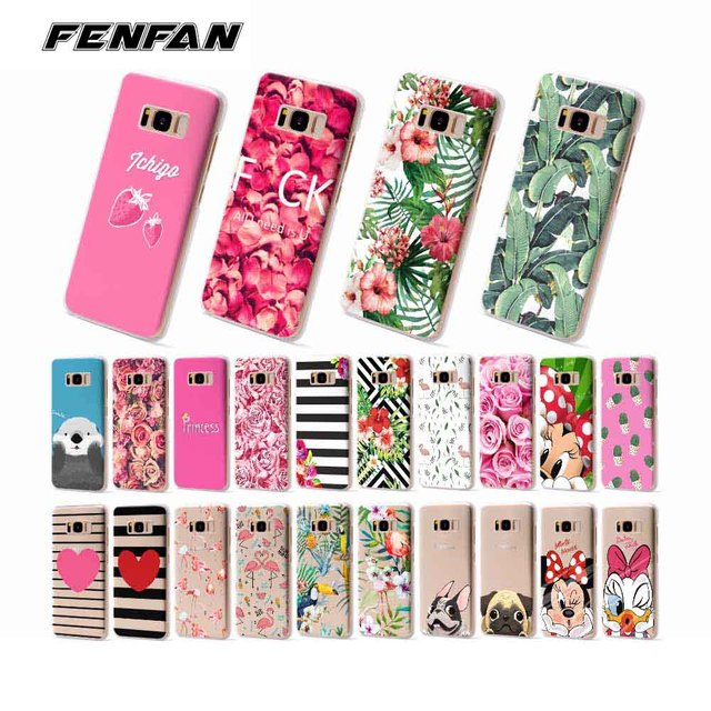 competitive price ae2a4 62b0a US $1.99 |Soft silicone TPU for Samsung Galaxy S9 case Plant Cactus Flower  Rose Phone Cover for Samsung S7 S7 Edge S8 S8 S9 Plus cover-in Half-wrapped  ...