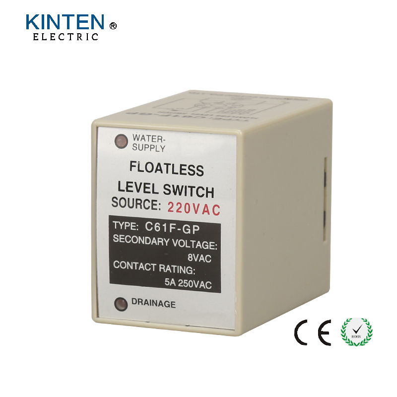 C61f Gp 220vac Floatless Level Switch    Relay Water Level