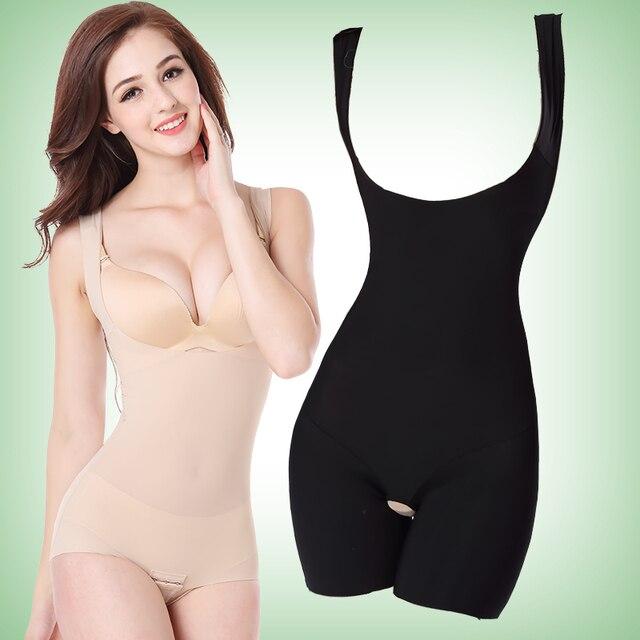 Nueva empresa underwear seamless mujeres body slimming body fajas sexy body body pantalones de cintura alta tummy control de underbust