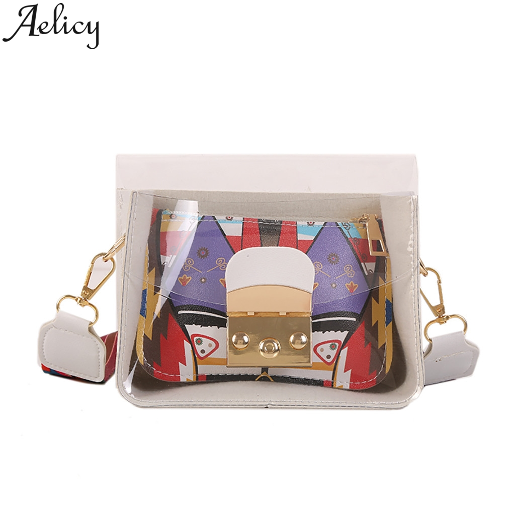 Aelicy Famous Brand Mini Messenger Bags Small Transparent Jelly Bags Ladies Shoulder Clutch Bag Phone BagAelicy Famous Brand Mini Messenger Bags Small Transparent Jelly Bags Ladies Shoulder Clutch Bag Phone Bag