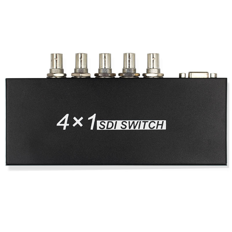 SDI 4x1 Switch 4 Channels SDI Signal to 1 SDI Signal Channel Support Full-HD SDI Signal Input and Output Free Shipping 50pcs lot 2n7000 to 92 small signal mosfet 200 mamps 60 volts n channel new original free shipping