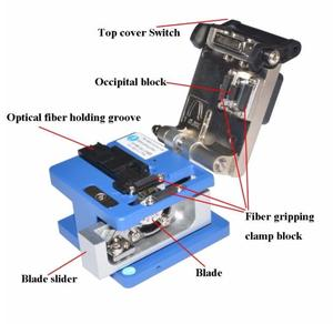 Image 5 - Cold Contact Dedicated Metal fiber cleaver FC 6S cutting fiber knife fiber optic cable cutter knife ftth tool