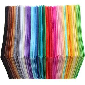 QUANFANG Polyester Dolls Crafts Fabric Non-Woven Felt Pattern-Bundle Sewing 1mm-Thickness