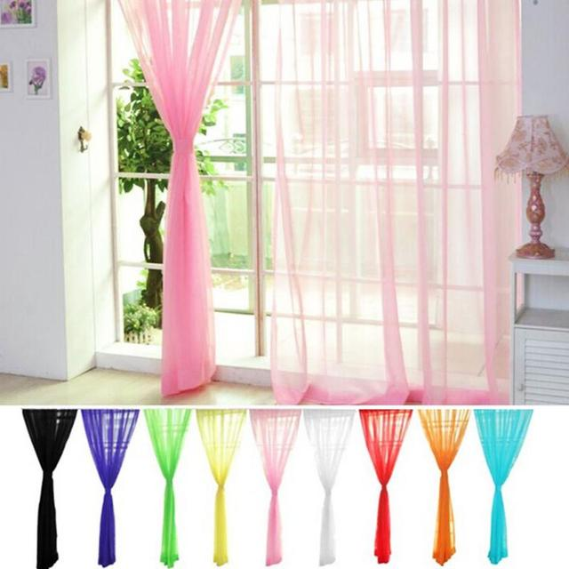 11 Farben Romantische Stil Vorhänge Für Wohnzimmer Teiler Garn String  Vorhang Streifen Drapieren Decor