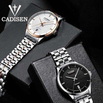 CADISEN Men Watch Automatic Mechanical Role Date Luminous Fashione luxury Brand Waterproof Clock Male Hombre Relogio Masculino Mechanical Watches