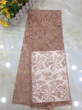 Popular wedding/party apparel cloth French net lace fabric African mesh cloth for dress PDN257(5yards/lot) multi color available