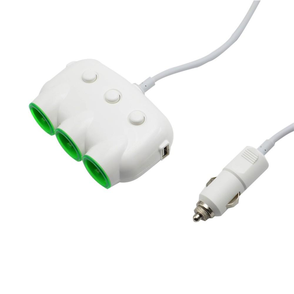 12V-24v-Car-1-to-3-Socket-Adapter-with-Dual-USB-Power-Supply-Cigarette-Lighter-Socket