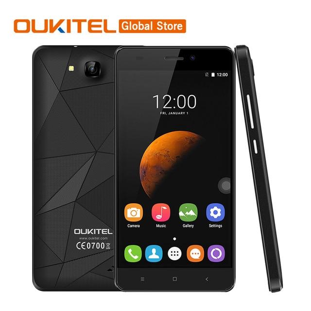 US $63 15 |Original Oukitel C3 5 0inch 1280x720 Android 6 0 MT6580 Quad  Core 1 3GHz 5 0MP 1G RAM 8G ROM 2000Mah Dual SIM Mobile Phone-in Mobile  Phones