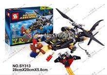 SY313 The Avenger Super Heros Batman Assemble Minifigure Building Block Toys Action Figure Compatible With Lego