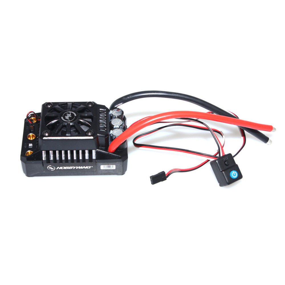 F17810/11 Hobbywing EzRun Max6- / Max5 V3 160A / 200A Speed Controller Waterproof Brushless ESC for 1/6 1/5 RC Car css clear crystal glass cabinet drawer door knobs handles 30mm