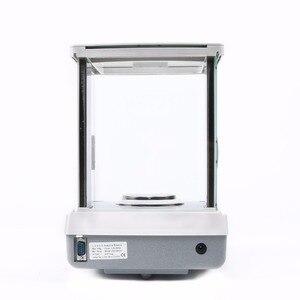 Image 5 - 米国固体 200 × 0.0001 グラム 0.1mg ラボ分析バランスデジタル電子精密体重計 ce 認定タッチスクリーン