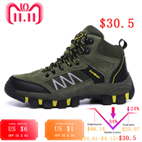 Waterproof   Hiking     Shoes   Men Outdoor Sport sneakers Trekking Mountain excursion Climbing   Shoes
