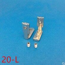 10 шт. 20 серии L Форма Тип интерьер внутренняя Угловой соединитель совместных кронштейн для 2020 Алюминий профиль с слот 6 мм с винтом