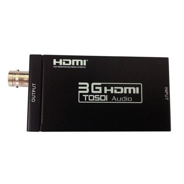 Mini HD 3G HDMI to SDI Converter Adapter Support 3G HD SDI Signals Showing on HDMI Display EU US UK AU Plug