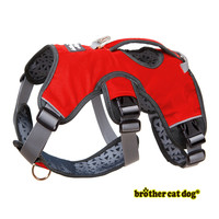 Dog Harness Walk Vest For Big Large Dogs Adjustable Strong Outdoor Padded Travel Reflective Harness Pitbull