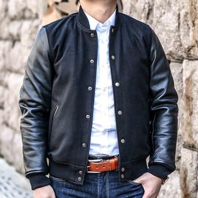 Aliexpress.com : Buy 2015 New Fashion Mens Slim Fit Varsity