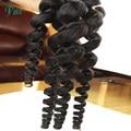 Перуанский девственные волосы свободная волна 1 пучки свободная волна наращивание волос мокрый и волнистые человеческие волосы 6 класс могут быть окрашены