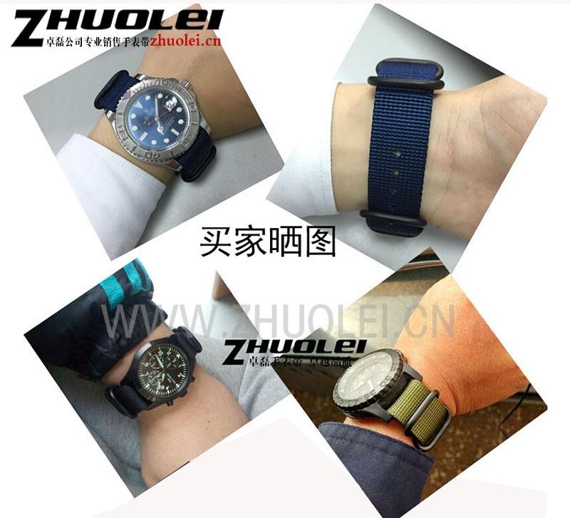 18 мм 20 мм 22 мм 24 мм высокое качество нато ремешок для часов ремешок нейлон водолазы матовый зулу 5 колец спортивные часы группа водонепроницаемый браслет