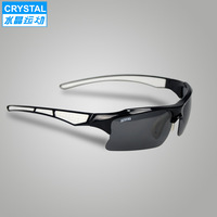 Crystal polarizing glasses sunglasses popular mountain bike riding glasses authentic driver goggles