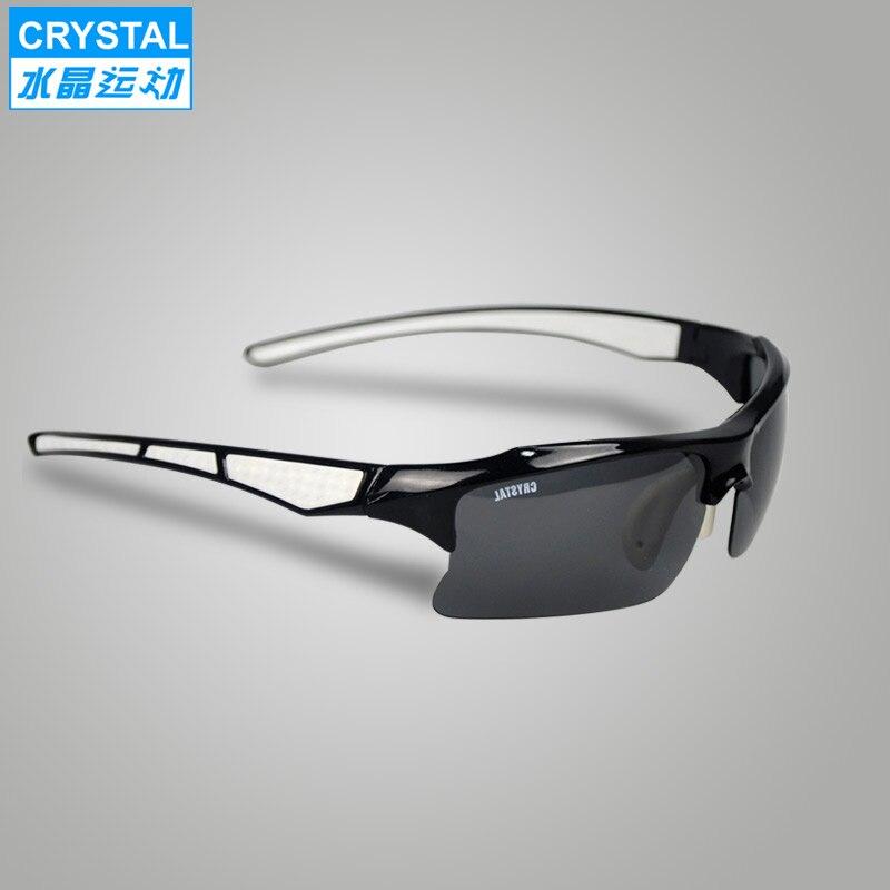 lunettes de soleil cristal polarisant vélo de montagne populaire circonscription verres lunettes authentique pilote