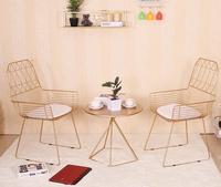 Nordic края несколько чайный столик гостиная угловой диван. Небольшой столик журнальный столик гладить art для отдыха золото круглого стола