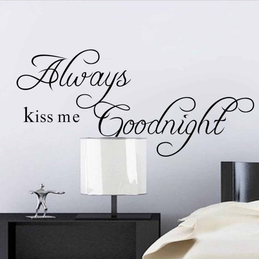 Removable Wall Art Decals Quotes : Aliexpress buy free shipping black text diy