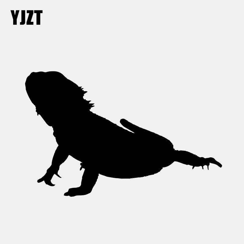Exterior Accessories Professional Sale Yjzt 11.6*11.7cm Lguana Lizard Reptile Decal Decor Car Modelling Stickers Vinyl C12-1146 Cheap Sales Car Stickers