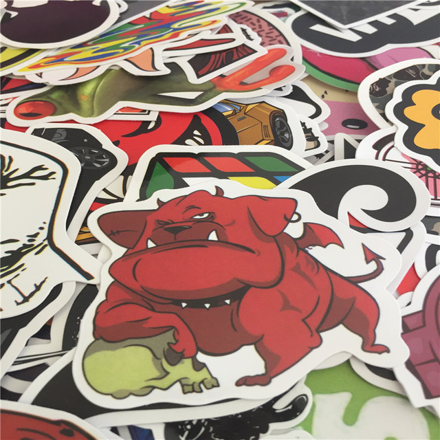 FREE SKATEBOARD STICKERS AND STREET ART STICKERS