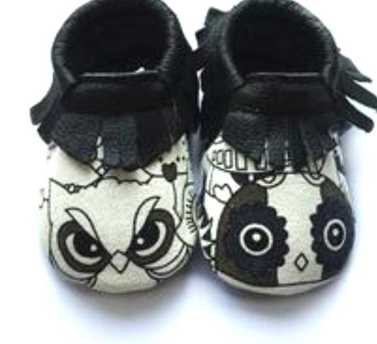 2016 Nuevos zapatos de Bebé de Cuero Genuino Mocasines Zapatos niños Zapatos de Los Bebés Recién Nacidos Franja Primer Caminante del niño Bebe Zapatos