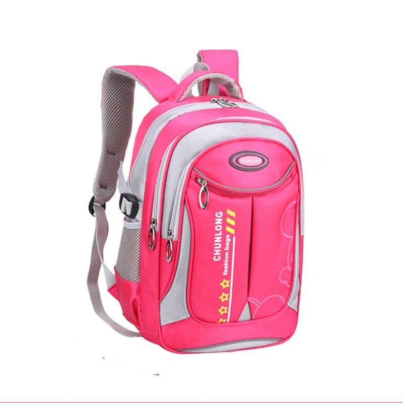 children school Backpack For Boys Girls kids orthopedic schoolbags Children Schoolbags primary School Book Bag mochila infantil in School Bags from Luggage Bags