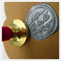 Customize Logo Box Set Personalized Initial Letter Sealing Wax Seal Wedding Wax Seal Stamp Design Your